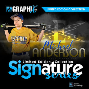 Signature Series Sports Photoshop Templates