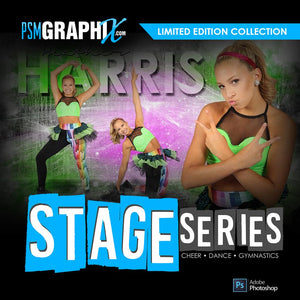 Stage Series - Custom Dance Photoshop Templates