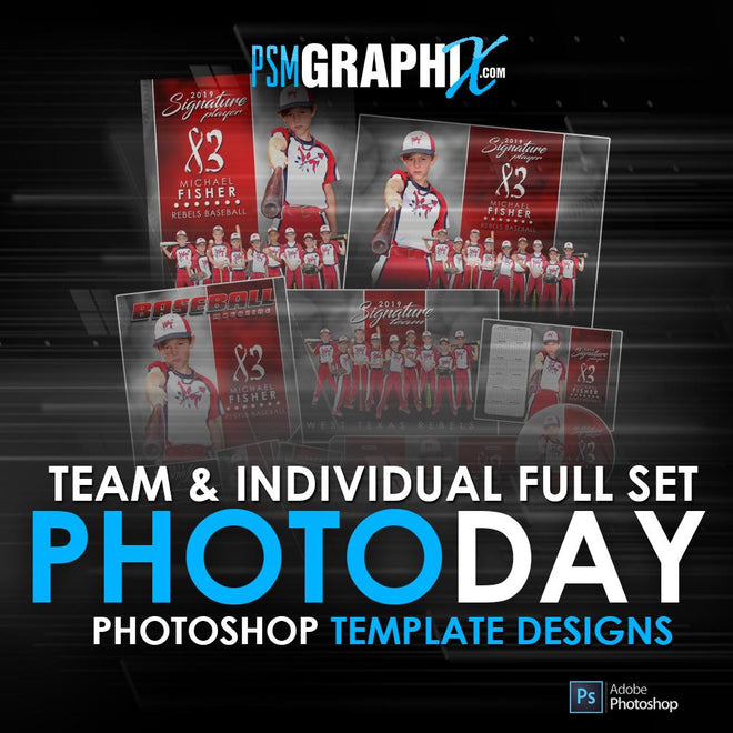 T&I Photo Day Template Sets