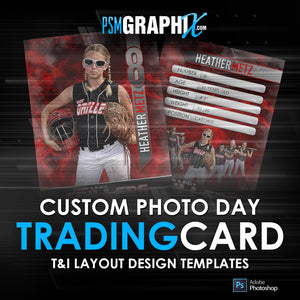 T&I - Trading Cards Photoshop Templates