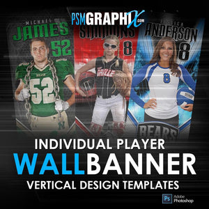 Game Day Wall/Locker Banners & Posters