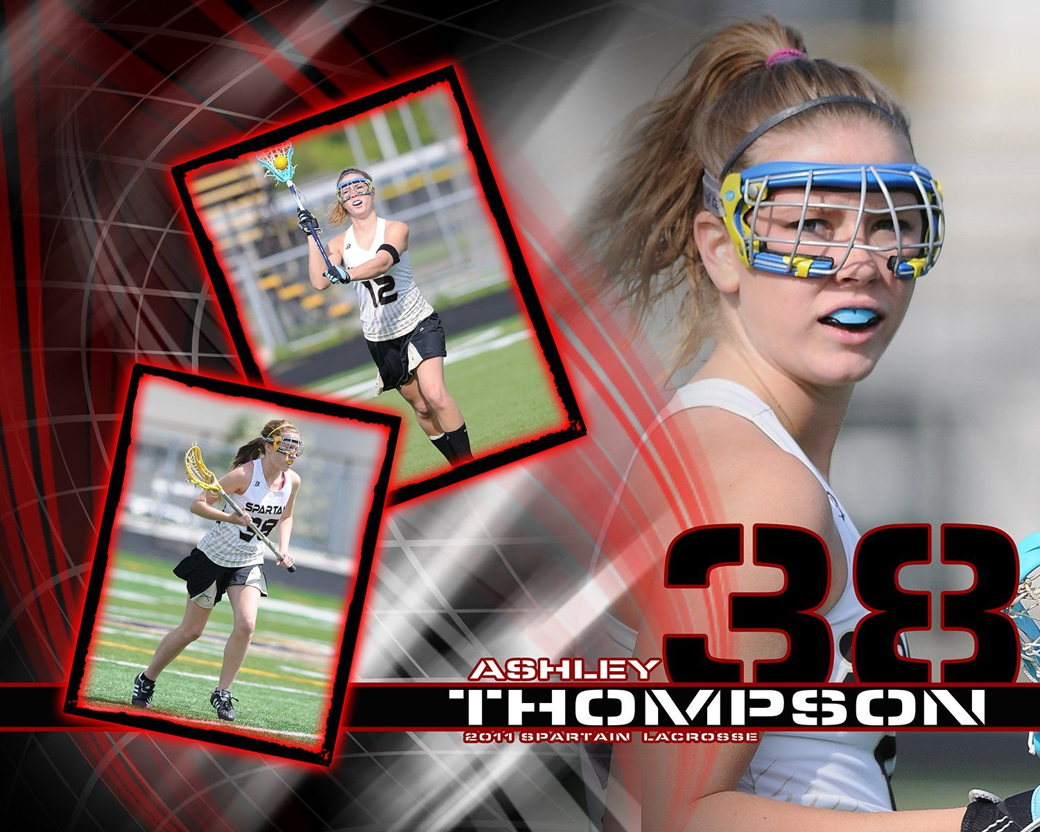 Lacrosse v.5 - Action Drop In Poster/Banner Downloadable Template Photo Solutions PSMGraphix