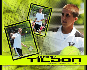 Tennis v.5 - Action Drop In Poster/Banner-Photoshop Template - Photo Solutions