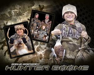 Hunting v.2 - Action Drop In Poster/Banner-Photoshop Template - Photo Solutions