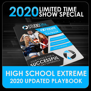 2020 Special - Extreme High School Sports Playbook-Photoshop Template - PSMGraphix