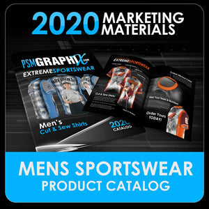 2020 - Men's Cut & Sew Product Design Catalog-Photoshop Template - PSMGraphix