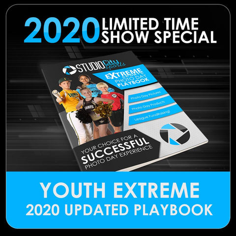 2020 Special - Extreme Youth Sports Playbook-Photoshop Template - PSMGraphix