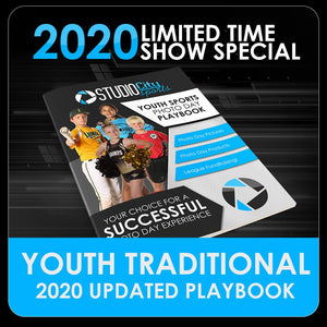 2020 Special - Traditional Youth Sports Playbook-Photoshop Template - PSMGraphix
