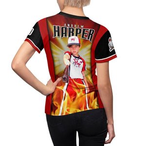 Burn - V.1 - Extreme Sportswear Women's Cut & Sew Template-Photoshop Template - Photo Solutions