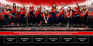 Equalizer v.2 - Team Field Banner Downloadable Template Photo Solutions PSMGraphix