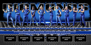 Grill v.4 - Team Field Banner Downloadable Template Photo Solutions PSMGraphix