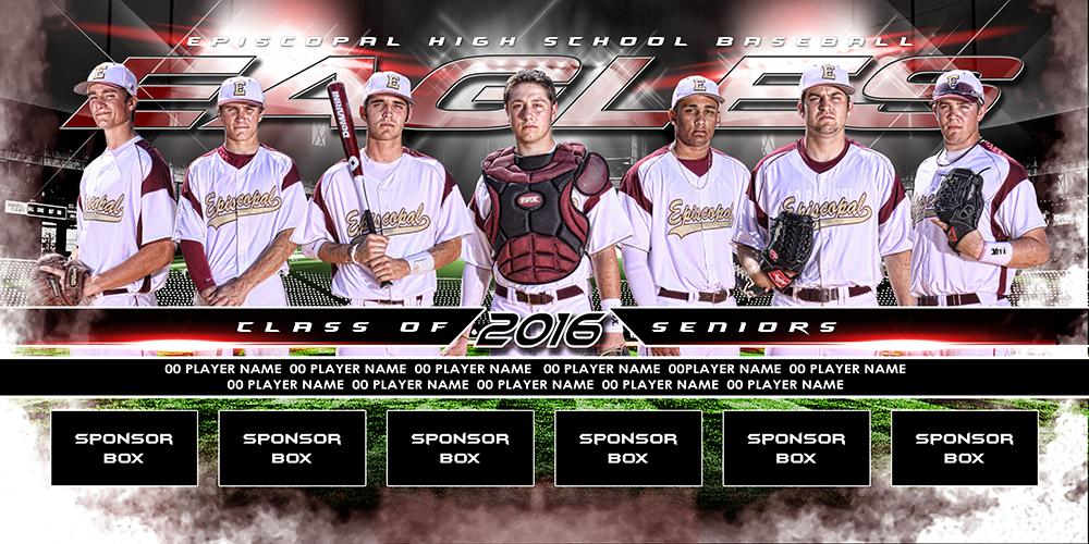 Play Ball v.6 - MVP Series - Team Field Banner-Photoshop Template - Photo Solutions
