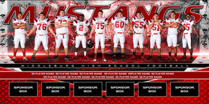 Rivet v.4 - Team Field Banner Downloadable Template Photo Solutions PSMGraphix