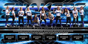 Spin v.4 - Team Field Banner-Photoshop Template - Photo Solutions