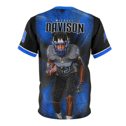 Buccaneer - V.1 - Extreme Sportswear Cut & Sew Shirt Template-Photoshop Template - Photo Solutions