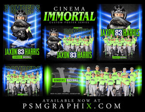 Immortal - Cinema Series - Full Collection-Photoshop Template - PSMGraphix