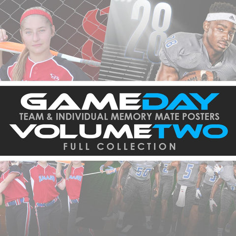 02 Game Day Memory Mates - V2 - FULL COLLECTION-Photoshop Template - Photo Solutions