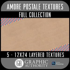 Amore Postale - Layered Textures - Full Collection