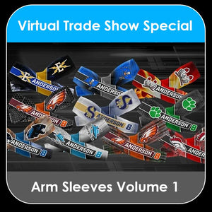 2021 Special - V.1 Arm Sleeves Collection-Photoshop Template - PSMGraphix