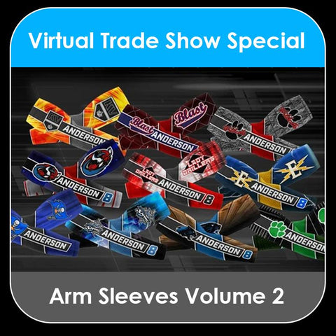 2021 Special - V.2 Arm Sleeves Collection-Photoshop Template - PSMGraphix