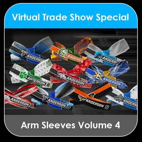 2021 Special - V.4 Arm Sleeves Collection-Photoshop Template - PSMGraphix