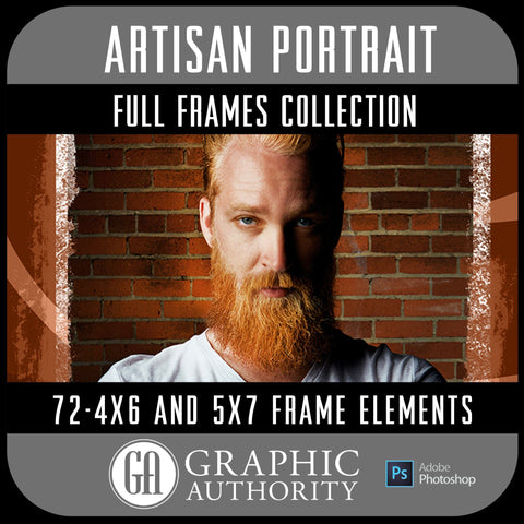 Artisan Portrait Collection - Full Set- 72 Frames