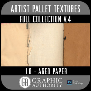 Artist Pallet - V.4 Aged Papers- Full Collection
