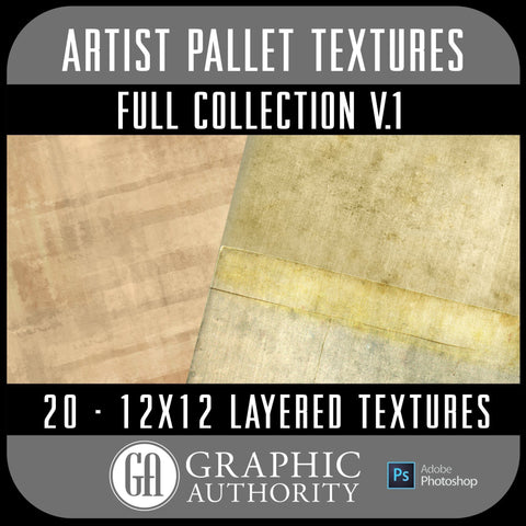 Artist Pallet - V.1 Layered Textures - Full Collection