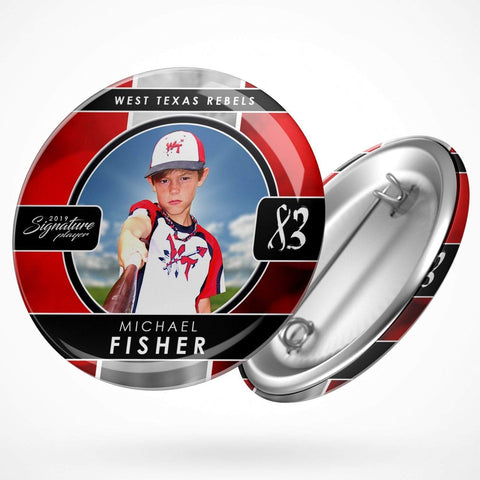 Signature Player - Baseball - V1 - Drop In Button Template