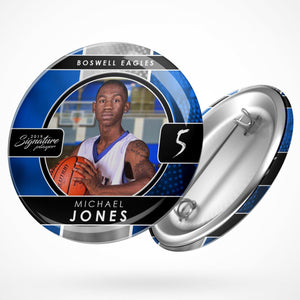 Signature Player - Basketball - V1 - Drop In Button Template