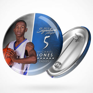 Signature Player - Basketball - V1 - Extraction Button Template-Photoshop Template - Photo Solutions