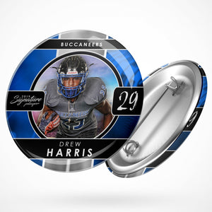 Signature Player - Football - V1 - Drop In Button Template-Photoshop Template - Photo Solutions