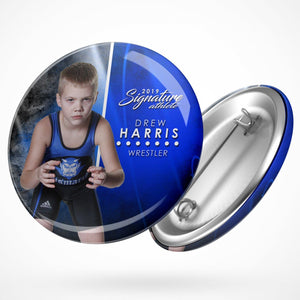 Signature Player - Wrestling - V1 - Extraction Button Template-Photoshop Template - Photo Solutions
