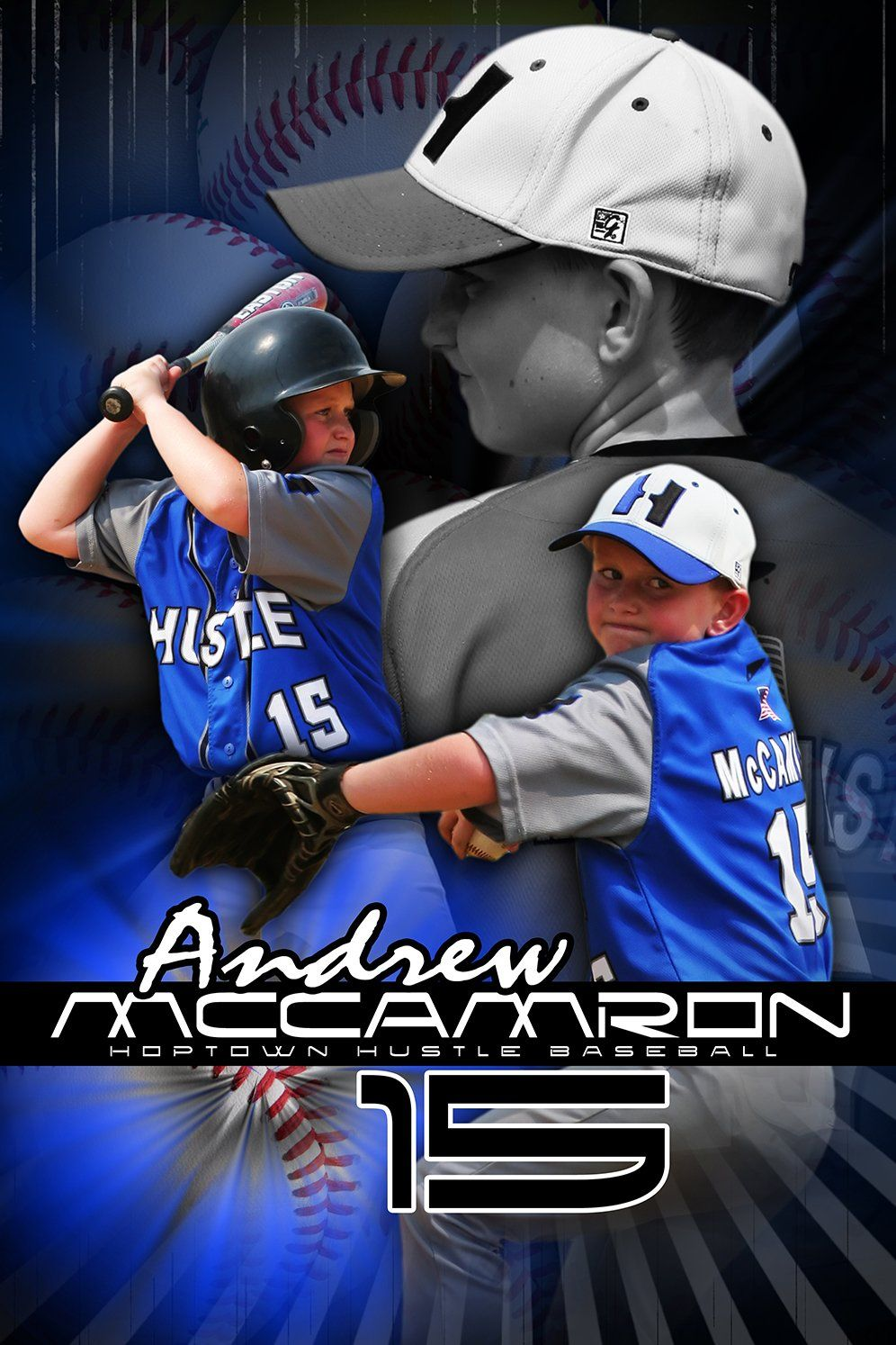 Baseball v.5 - Action Extraction Poster/Banner Downloadable Template Photo Solutions PSMGraphix