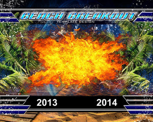 Beach Breakout v.3 - Xtreme Team-Photoshop Template - Photo Solutions