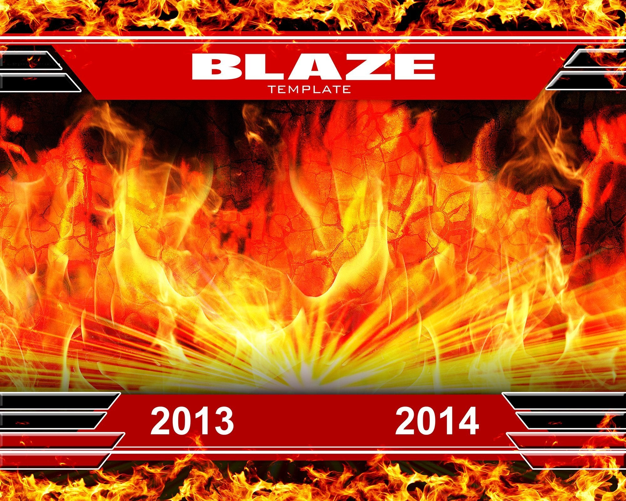 Blaze v.2 - Xtreme Team-Photoshop Template - Photo Solutions