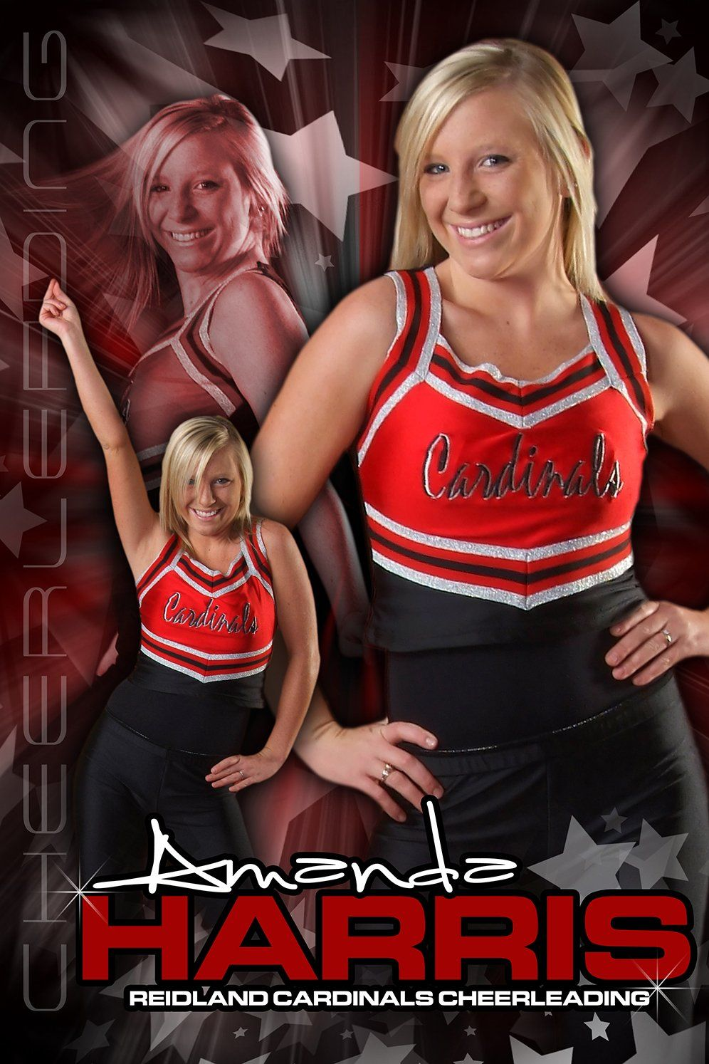 Cheerleading v.5 - Action Extraction Poster/Banner-Photoshop Template - Photo Solutions
