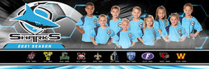 "Our House - Soccer - Cinema Series ""Game Time Edition"" - Team Panoramic-Photoshop Template - PSMGraphix"
