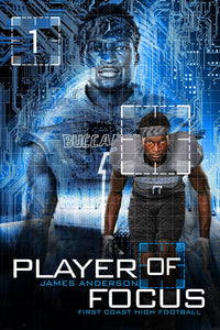 Player Of Focus - Cinema Series - Player Banner & Poster Template-Photoshop Template - Photo Solutions