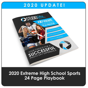 2020 Update - High School Extreme Sports Playbook Downloadable Template Photo Solutions PSMGraphix
