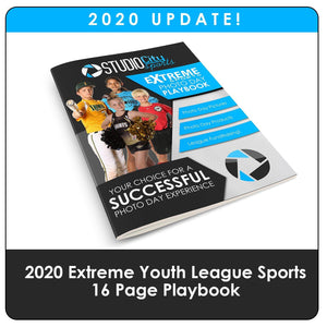 2020 Update - Youth Sports Extreme Playbook Downloadable Template Photo Solutions PSMGraphix