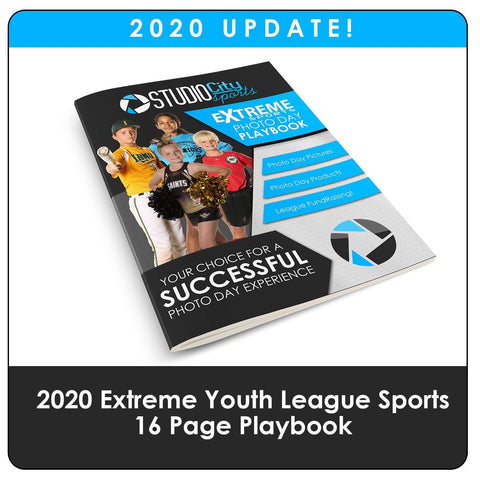 2020 Update - Youth Sports Extreme Playbook-Photoshop Template - Photo Solutions