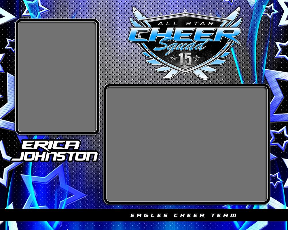 Metal Stars v.4 - Memory Mate - H-Photoshop Template - Photo Solutions