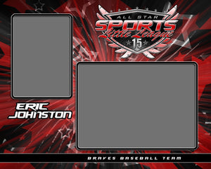 Spirit v.1 - Memory Mate - H Photoshop Template -  PSMGraphix