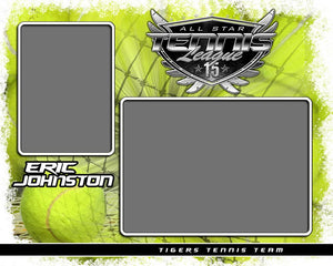 Tennis - v.SS - Memory Mate - H-Photoshop Template - Photo Solutions