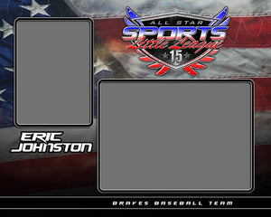 USA v.6 - Memory Mate - H-Photoshop Template - Photo Solutions