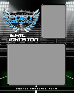 Friday Lights v.2 - Memory Mate - V-Photoshop Template - Photo Solutions