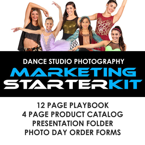 05 Dance Studio Marketing - STARTER KIT Photoshop Template -  PSMGraphix