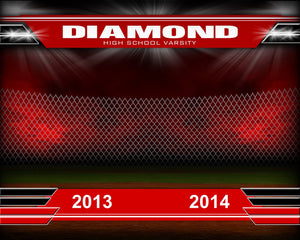 Diamond v.2 - Xtreme Team Downloadable Template Photo Solutions PSMGraphix