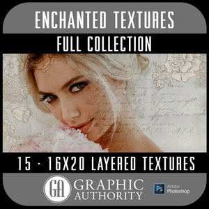 Enchanted - 16x20 Layered Textures - Full Collection